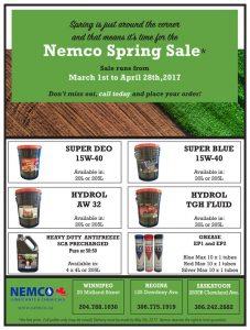 nemco 2017 spring sale flier