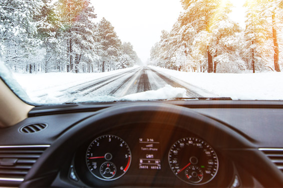 interior car windshield