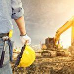 bulldozer in field of dirt